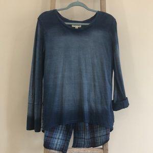 cloth & stone long sleeve top